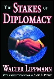Cover of: The stakes of diplomacy