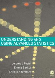 Cover of: Understanding and using advanced statistics |