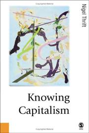 Cover of: Knowing capitalism