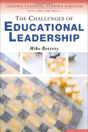 Cover of: The Challenges of Educational Leadership