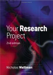 Cover of: Your Research Project | Nicholas Walliman