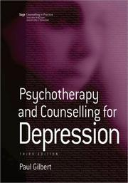 Cover of: Psychotherapy and Counselling for Depression