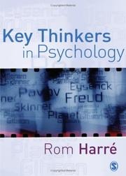 Cover of: Key Thinkers in Psychology | Rom Harre