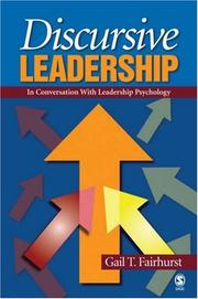 Cover of: Discursive Leadership