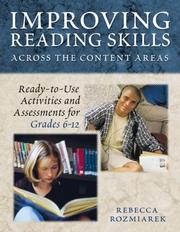Cover of: Improving Reading Skills Across the Content Areas