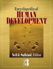 Cover of: Encyclopedia of Human Development, 3 Volume Set