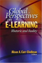 Cover of: Global Perspectives on E-Learning | Alison A. Carr-Chellman