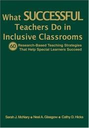 What Successful Teachers Do in Inclusive Classrooms