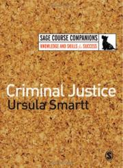 Cover of: Criminal Justice (SAGE Course Companions)