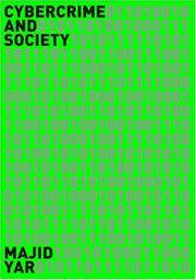 Cover of: Cybercrime and Society | Majid Yar