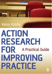 Cover of: Action Research for Improving Practice