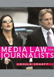 Cover of: Media Law for Journalists