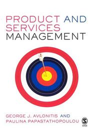 Cover of: Product and Services Management | George J Avlonitis