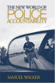 Cover of: The New World of Police Accountability