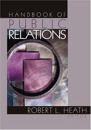Cover of: Handbook of Public Relations