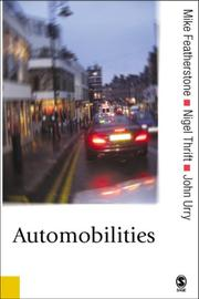 Cover of: Automobilities |