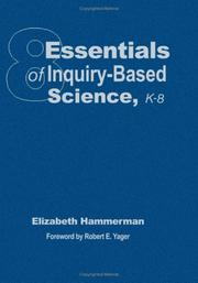 Cover of: Eight Essentials of Inquiry-Based Science, K-8