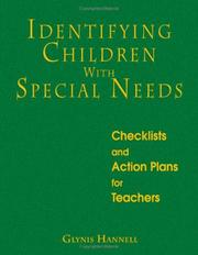 Cover of: Identifying Children With Special Needs | Glynis Hannell