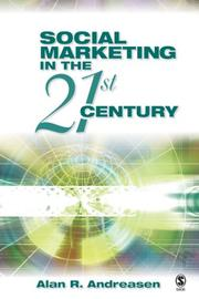 Cover of: Social marketing in the 21st century