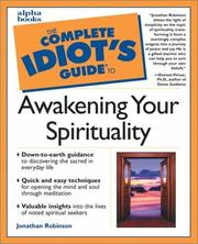 Cover of: The complete idiot's guide to awakening your spirituality