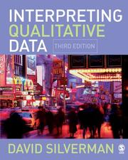 Cover of: Interpreting Qualitative Data | David Silverman