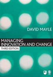 Cover of: Managing Innovation and Change (Published in association with The Open University)