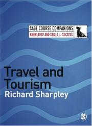 Cover of: Travel and Tourism (SAGE Course Companions) | Richard Sharpley