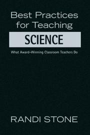 Cover of: Best Practices for Teaching Science | Randi Stone