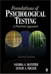 Cover of: Foundations of Psychological Testing | Sandra A. McIntire