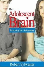 Cover of: The Adolescent Brain | Robert Sylwester