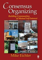 Cover of: Consensus Organizing