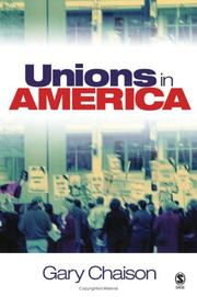 Cover of: Unions in America