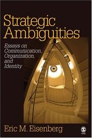 Cover of: Strategic Ambiguities
