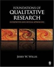 Cover of: Foundations of Qualitative Research