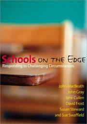 Cover of: Schools on the Edge: Responding to Challenging Circumstances