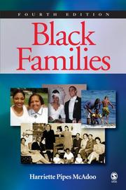 Cover of: Black Families | Harriette Pipes McAdoo
