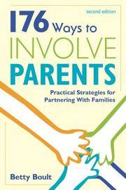 Cover of: 176 Ways to Involve Parents