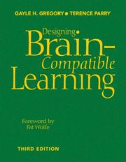 Cover of: Designing Brain-Compatible Learning | Gayle H. Gregory