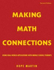 Cover of: Making Math Connections | Hope Martin