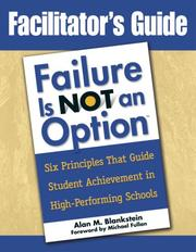 Cover of: Facilitator's Guide to Failure Is Not an Option(TM)