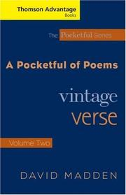 Cover of: Thomson Advantage Books: Pocketful of Poems