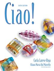 Cover of: Ciao!