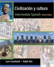 Cover of: Civilizacion y cultura by Lynn A. Sandstedt, Ralph Kite, John G. Copeland