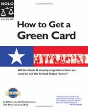 Cover of: How to get a green card
