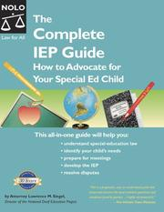 The complete IEP guide by Lawrence M. Siegel