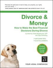 Divorce & Money by Violet Woodhouse, Dale Fetherling