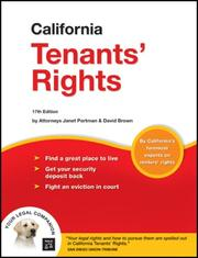 Cover of: California Tenants' Rights
