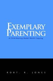 Cover of: Exemplary Parenting