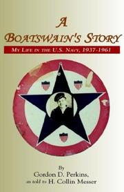 Cover of: The Boatswain's Story