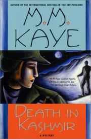Death in Kashmir by M.M. Kaye